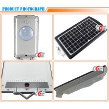 10 Watt High Luminance Integrated Solar Wind LED Street Light Housing
