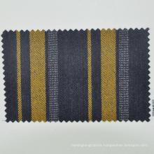 virgin wool fabric for banking uniform panel stripe