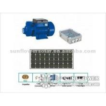 Alésage submersible centrifuge Pompe solaire, débit maxi 5100 LPH, tête max 98m.
