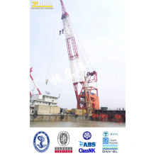 China Manufacturer Hydraulic Floating Dock Crane for Sale