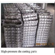 Fundição em Alumínio de Alta Pressão com Revestimento