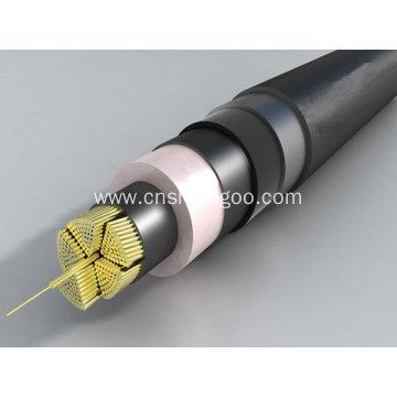 sector shaped conductor PVC Insulated Power Cable