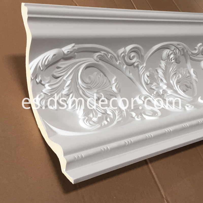 Polyurethane Decorative Crown Molding