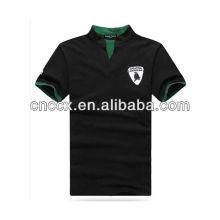 13PT1041 Men's short sleeve cotton fashion latest design polo shirt