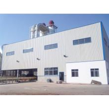 Stahlkonstruktions-Metallrahmen-Werkstatt-Gebäude