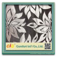latest new design fabric for sofa and furniture fabric flower fabric leaves