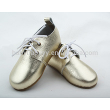 Chaussures enfants Fashion Oxford avec chaussures en caoutchouc pour enfants