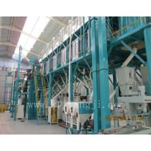 Fábrica de moagem de farinha de milho de 5-500tpd e moinhos de farinha de trigo