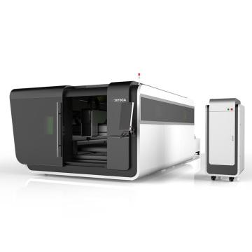 Máquina de corte a laser de fibra de alumínio CNC