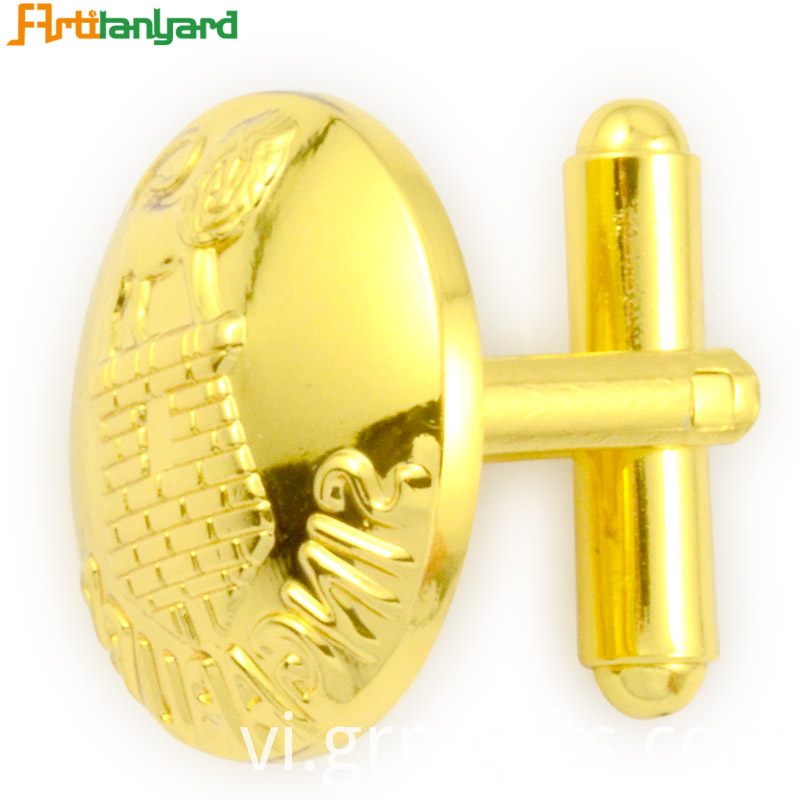 Gold Plating Women S Cufflink