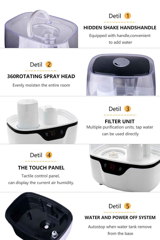 Humidifier Tedail 602