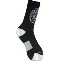 Color Nylon Terry calcetines de deportes para el club deportivo (NTS-01)