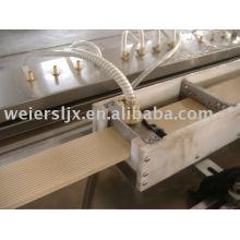 WPC PVC Foamed Profile Line---Plastic Machine