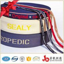Top grade hotselling 40mm jacquard elastic webbing men elastic rubber tape for underwear elastic webbing belt