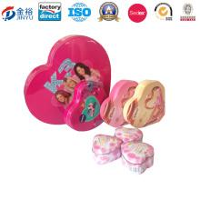 Luxury Gift Box Packaging Wedding Gift Box Round Tins Jy-Wd-2016011804
