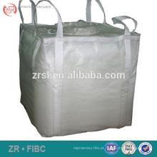 Virgin um saco da tonelada para o fertilizante / cimento / lixo descartável, saco grande do produto comestível Recyclable para o milho