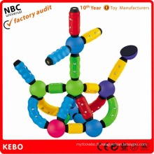 Magnetic Toy Plastic Rods