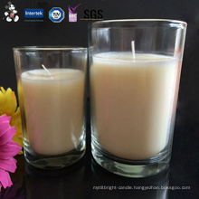 Manufacture Pretty Excellent Plastic Tea Cups Candle with High Quality Certificates