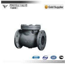 Válvula de aço tubular válvula de retenção padrão dn80