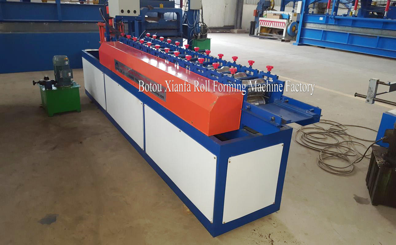 automatic shutter door making machine