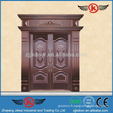 JK-RC9202 Porte de cuivre réelle Front de luxe de maison