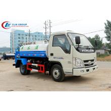 2019 barato Foton forland 2000l pequeño camión de agua