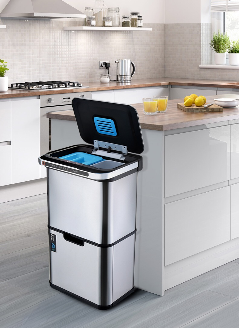 Sortable Trash Bin for Kitchen