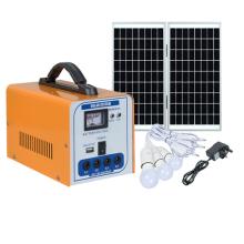 Sistema de iluminação de carregamento solar móvel