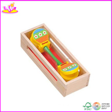2014 Best Selling Wooden Castanet Toy, New and Popular Wooden Castanets Toy, Mini Kids Wooden Castanets Toy W07I038