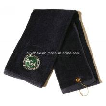 High Quality Soft Custom Sport Club Golf Towel (SST1009)