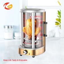 Máquina automática rotativa elétrica de torrefação de frango