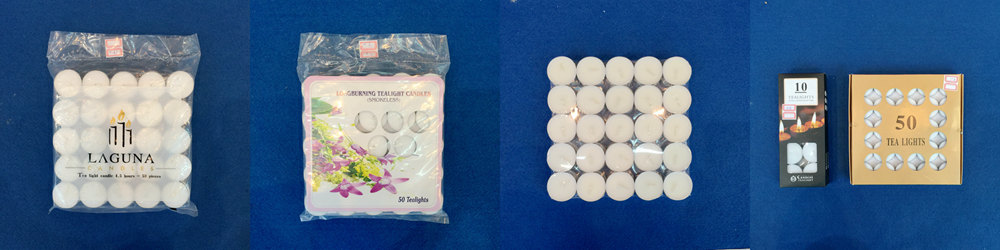 tealight packing way