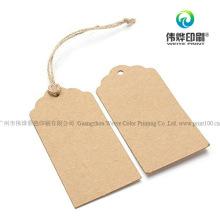 High Quality Paper Printing Hang Tag