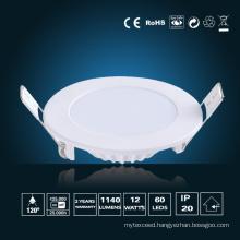12W LED Panel Light φ 170*16mm