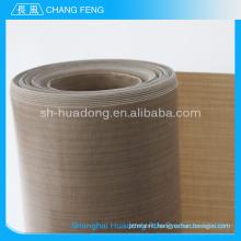 Factory custom fiber glass fabric cloth with ptfe/teflon coating