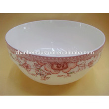 "Ceramic new bone china bowl of 7"" with decal for tableware"