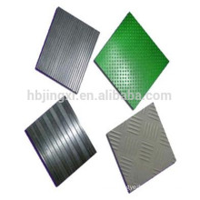 industrial grooved anti-slip rubber mat manufacturer