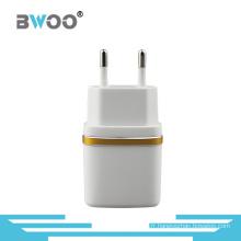 2.1A Portable Chargeur mural USB avec prise EU