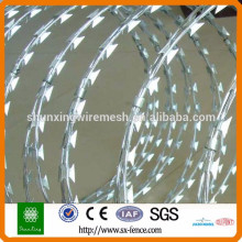 [10 years quality guarantee] Anping Factory cheap razor wire, razor barbed wire