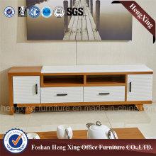 Melamine Living Room 1.6m White Color TV Stand (HX-6M373)