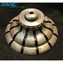 Bonne qualité Diamond Diamond Edge Profile Wheel (SA-054)