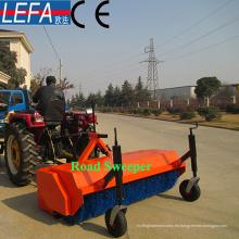 Barredora de carretera de uso de tractor de 4 ruedas 200kgs con Ce