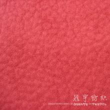 Estofos em tecido poliéster camurça de pele de elefante