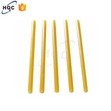 J17 3 16 9 cola quente do derretimento da colagem quente do derretimento da cola do derretimento quente amarelo da colagem do derretimento para embalar