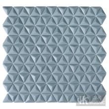 Wandkunst Dreieck Glasfliesen