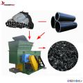 Abfall HDPE Pipe Single Shaft Shredder