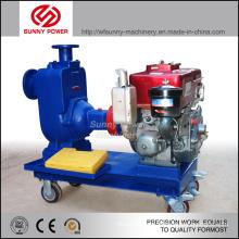 Pompe à eau pour étangs de 6 pouces pour irrigation agricole alimentée par un moteur