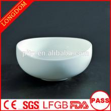 2015 New Design oval porcelain bowl for salad soup rice