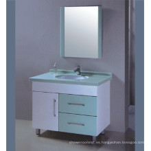 Muebles del gabinete de cuarto de baño del PVC (B-528)