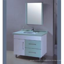 Meubles de Cabinet de salle de bains de PVC (B-528)